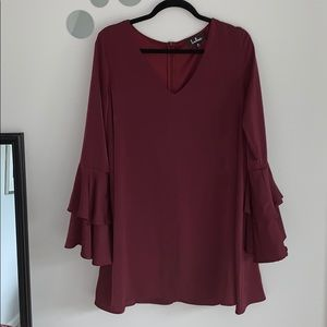Lulu's Maroon Dress